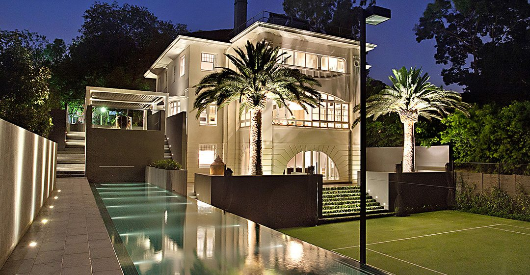 TOORAK Lap Pool & Tennis Court Combination