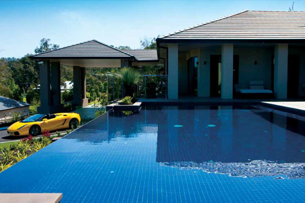 Exotic Pools - Infinity Pools - Melbourne Pool Builders